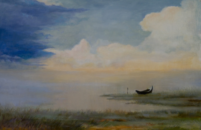 StoreGal/store/Oil/Lonely boat 24x36.jpg