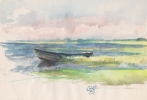 StoreGal/store/Watercolor/_thb_Boat on the lake 16x12.jpg