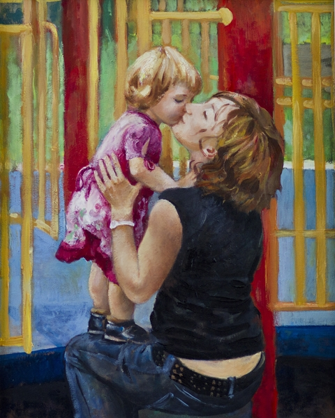 gal/fineart/Portrait and figure/Mother and daughter 16x20.jpg