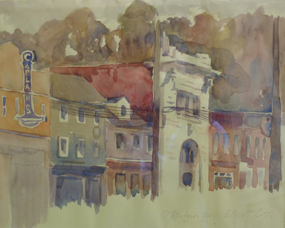 portfolio_gal/Aquarelle/Ellicott City Summer.jpg